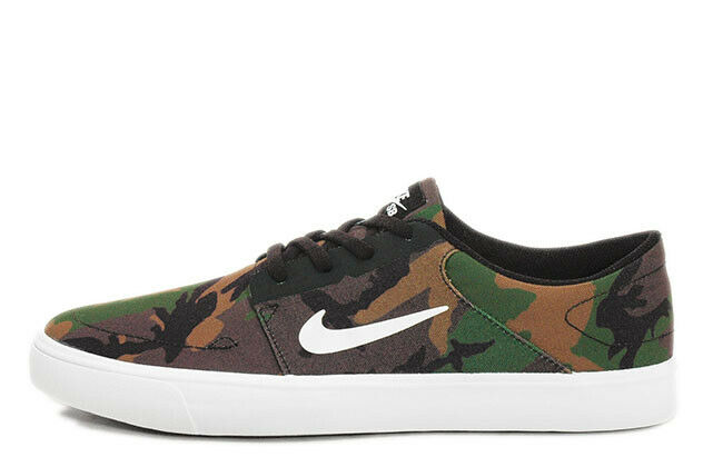 Nike SB Portmore Canvas Mens Trainers 723874 SNEAKERS Shoes UK Size 12