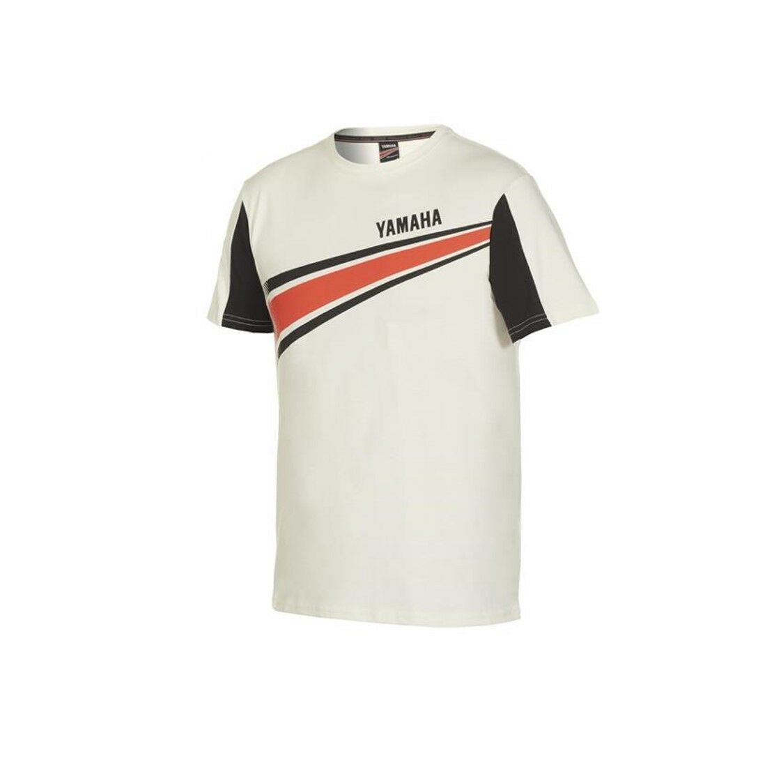 Official Yamaha REVS Byson White Men's T-Shirt