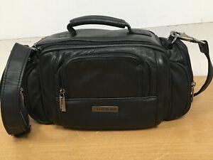 Official-Fujifilm-FinePix-SLR-Bridge-Leather-Camera-Bag-Case-with-Shoulder-Strap