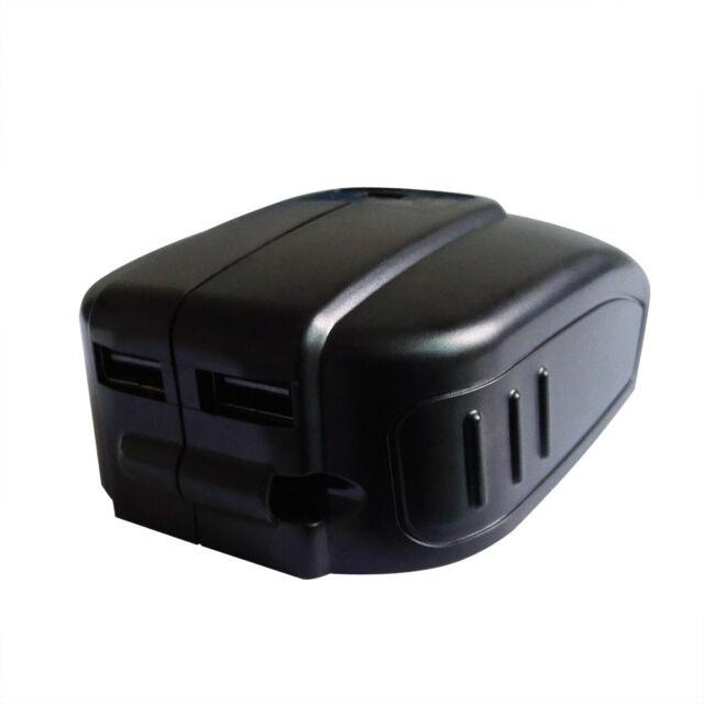 3 USB Mobile battery charger adaptor for Makita 14.4V 18V BL1830 BL1815 battery
