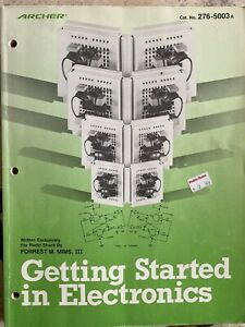 Radio Shack by Forrest Mims Getting Started in Electronics ...