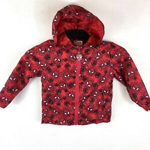 Official-MARVEL-SPIDERMAN-Rain-Cover-Proof-Mac-Jacket-Kids-2-3-Yrs-S143