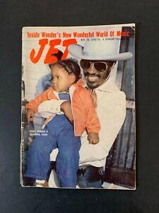 Vtg Jet Magazine November 1976 Stevie Wonder Aisha