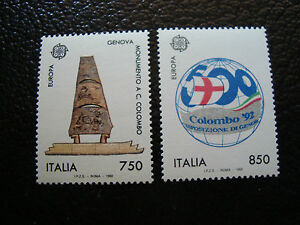 Italy-Stamp-Yvert-and-Tellier-N-1940-1941-N-A4-Stamp-Italy