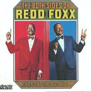 FREE US SHIP. on ANY 3+ CDs! NEW CD Redd Foxx: Both Sides of Redd Foxx Live