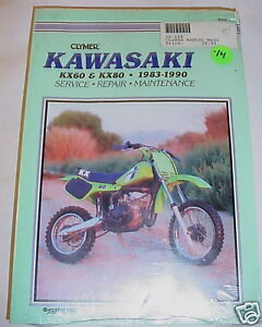 CLYMER KAWASAKI KX60 KX80 83-90 KX Repair 60 80 Manual | eBay
