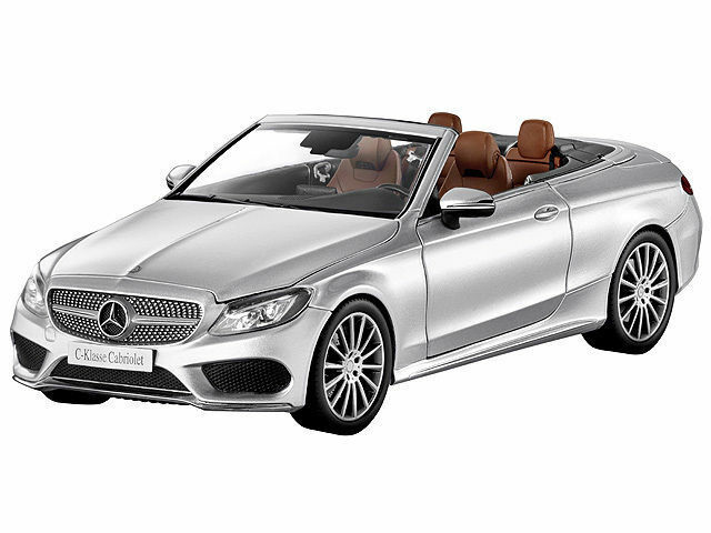 Mercedes - benz c - klasse cabrio mit einem 205 softtop iridiumsilber1 18 ersticken
