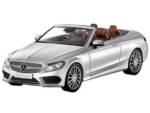 MERCEDES Benz A 205 C Classe cabriolet con Softtop Iridio Argento 1:18 NUOVO OVP
