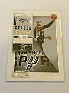 2018-19 Panini Contenders Basketball #57 - LaMarcus Aldridge - San Antonio Spurs
