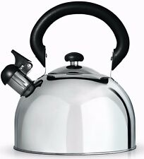 CafeOle Stove Top Induction Whistling Stainless Steel 1.5L Kettle Grunwerg HTK15
