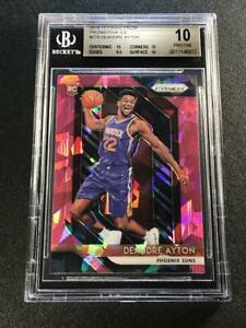 DEANDRE-AYTON-2018-PANINI-PRIZM-279-PINK-ICE-REFRACTOR-ROOKIE-BGS-10-PRISTINE
