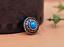 10X-Silver-Tone-Flower-Leather-Craft-Bag-Belt-Purse-Decor-Turquoise-Conchos-Set miniature 66