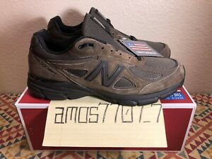 New-Balance-990v4-M990MG4-Military-Green-Suede-Black-Made-in-USA-SZ-10-5-11-5-12