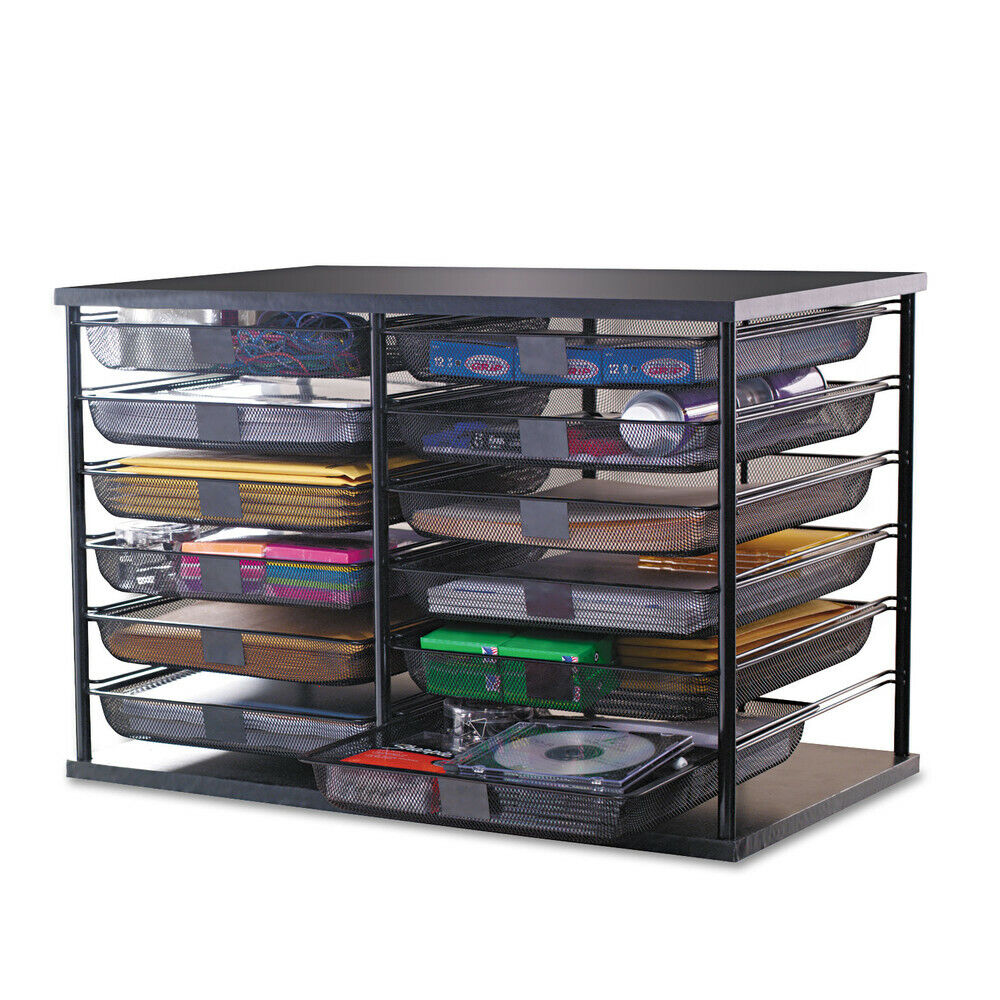 Rubbermaid 48-compartment Organizer With Mesh Drawers Rub48