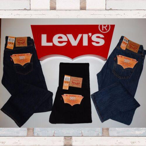 Autentico Black Wash Fit Bnwt 501 Levi's 100 One Jeans e Uomo Straight nero Wash xfnU0wU4q