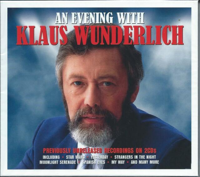 Klaus Wunderlich - An Evening With - Previously Unreleased Recordings 2CD NEW