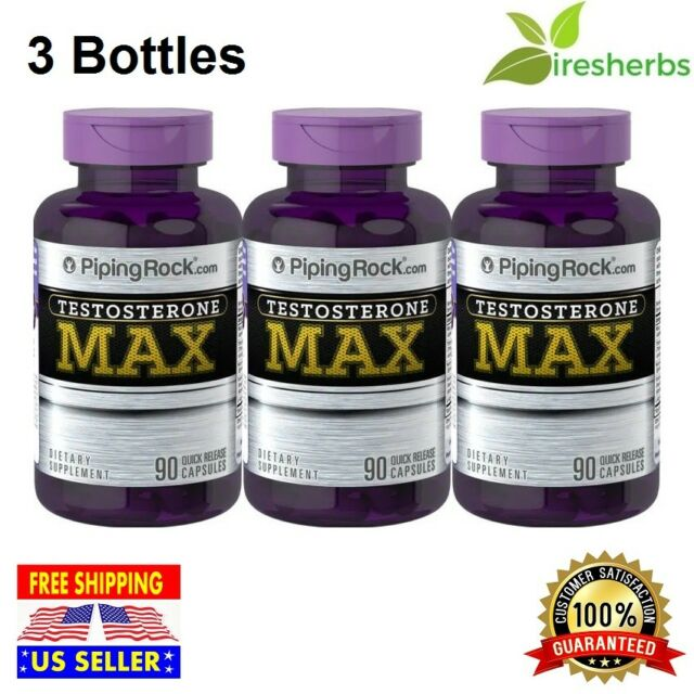 180 Caps TESTO Power Muscle Growth Strongest Testosterone Booster Tribulus Max for sale online