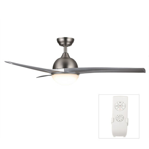 """52/"""" 56/'/' Indoor Ceiling Fan with LED Light Remote Control 2 3 4 5 6 Blades"""