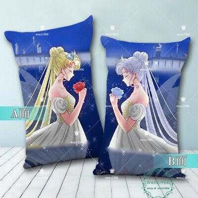 Hugging Anime cos Sailor Moon Pillow Case Otaku Dakimakura Gift 35×55cm #X31