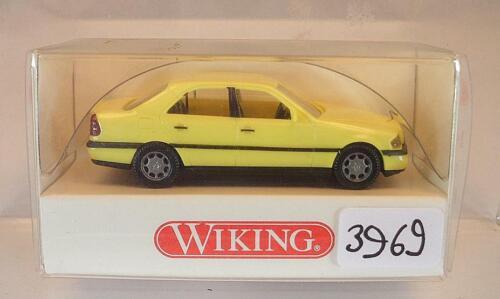 Wiking 1//87 Nr 144 02 23 Mercedes Benz C 200 schwefelgelb OVP #3969
