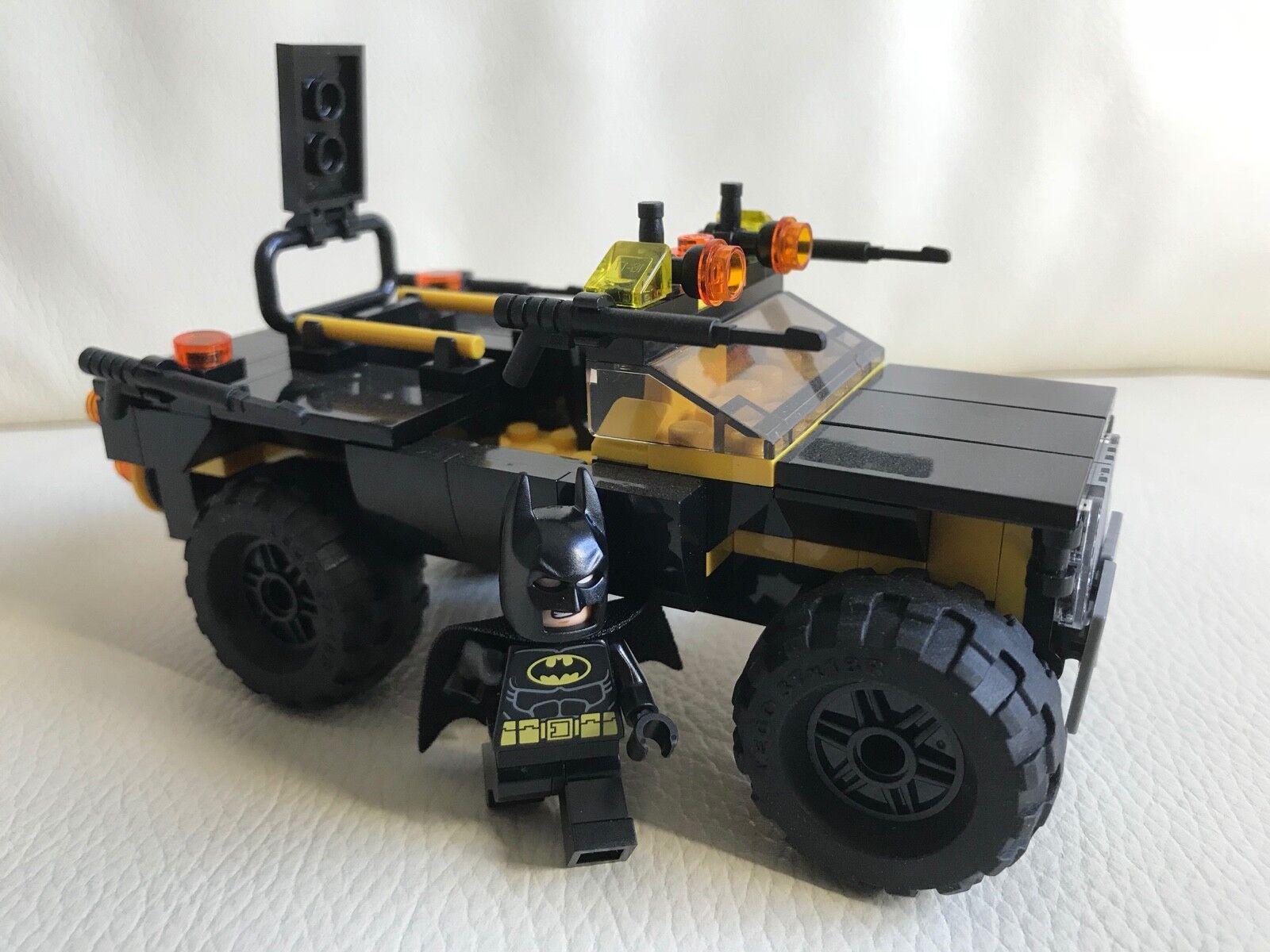 Lego original parts - HUMVEE + BATMAN - batmobil off road version my design