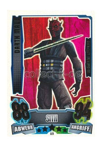 Force coronó serie 4-le1-Darth Maul-Edición limitada