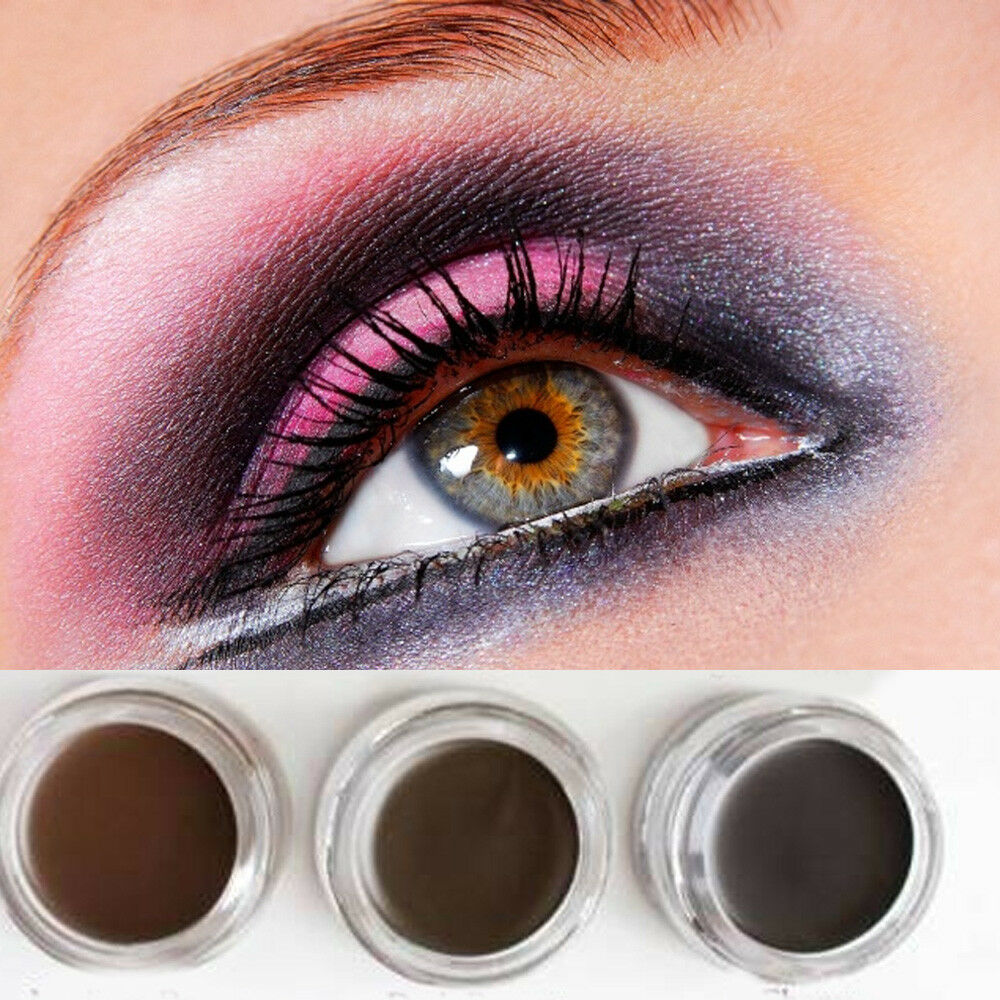 Women Eyebrow Cream Tint Enhancer Long Time Waterproof Brow Gel Eye Cosmetic 10