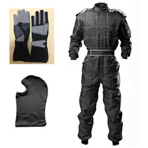 GO Kart Cordura Suit -Black (Free gift-Glove and Balaclava) Mega Sale