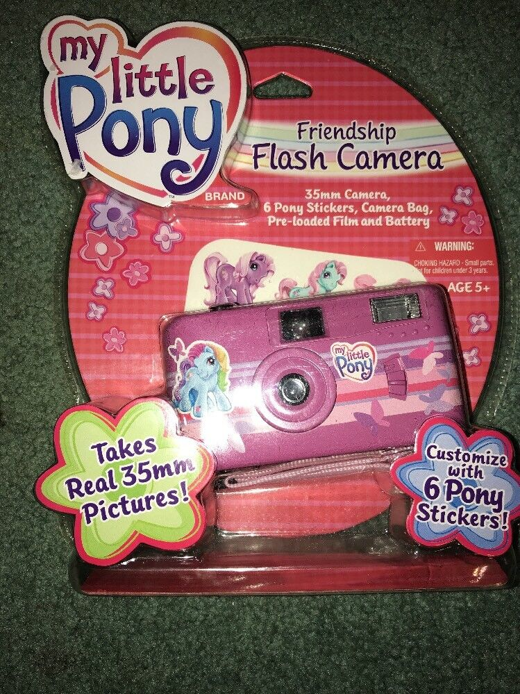 My Little Pony Friendship Flash Camera Vintage 35mm Camera Camera Bag NEW