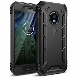 buy online b82ec 1aab9 Poetic Revolution Fitted Case for Moto G5 Plus - Black