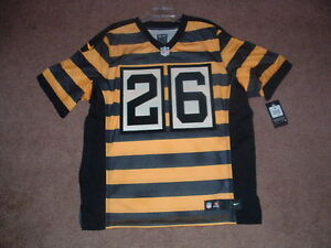 36dfd35171e LEVEON BELL #26 STEELERS AUTHENTIC 3RD NIKE ELITE FOOTBALL JERSEY sz ...