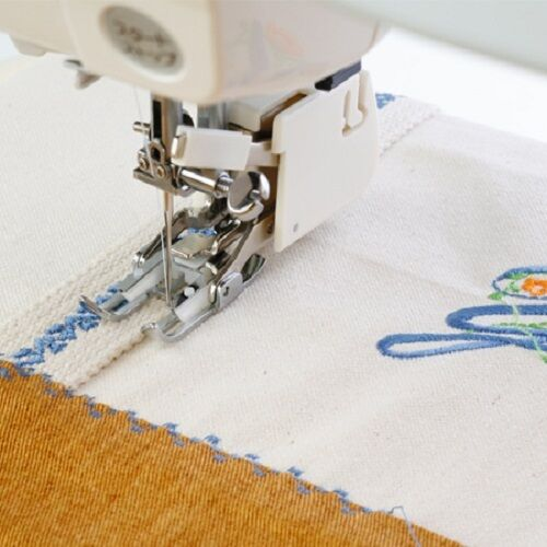 Janome Even Feed Foot With Quilting Guide #200310002 For Oscilliating Hook Model