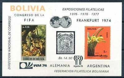 236565 Bolivien Block 44** Fußball Etc.. Michel€ 160,00€