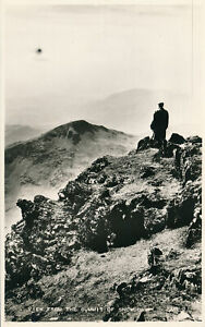 PC54361 View from the Summit of Snowdon. Valentine. RP
