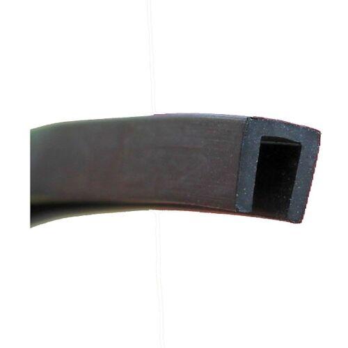 Eutras Profil de Version Fp3006 4mm Protection Bord en Caoutchouc Passepoil