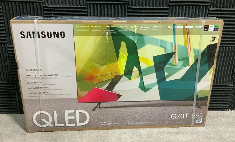 Samsung Q70T 55 Class HDR 4K UHD Smart QLED TV (QN55Q70TAFXZA) ✅❤️️✅❤️️NEW. Available Now for 699.99
