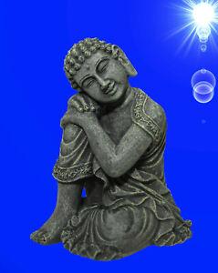 1a Aquarium Deko Traumender Buddha Asien Hohle Terrarium Dekoration Zubehor Ebay