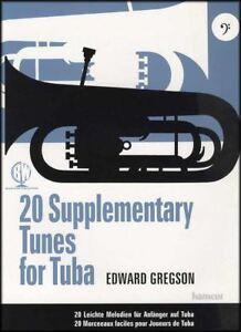 20 Complémentaire Tunes For Tuba Sheet Music Book Edward Gregson-afficher Le Titre D'origine ChronoméTrage Ponctuel