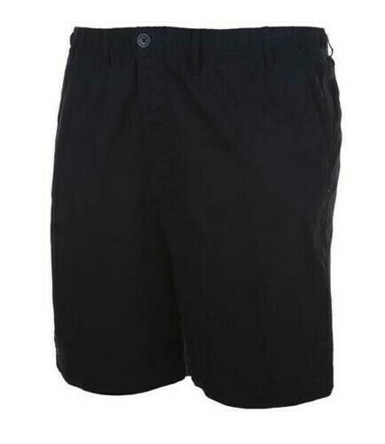 Espionage Mens Big Size Longer Length Pure Cotton Rugby Shorts (019) in Navy