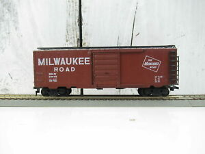 HO-Scale-034-The-Milwaukee-Road-034-MILW-19042-Forty-Foot-Freight-Train-Box-Car
