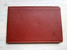 Original Louis Vuitton Designer Karten Ausweis Etui Hülle Papiere, vintage case