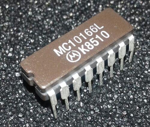 1pcs mc10166l ECL 5 − Bit Magnitude comparateur 10166 = 1820-2323 CERDIP 16