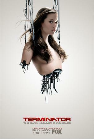 "Summer Glau Terminator Poster 16/""x24/"""