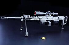 PUBG AKM AK47 Assault Rifle Gun Weapon Replica Prop Alloy Discast Display 37cm