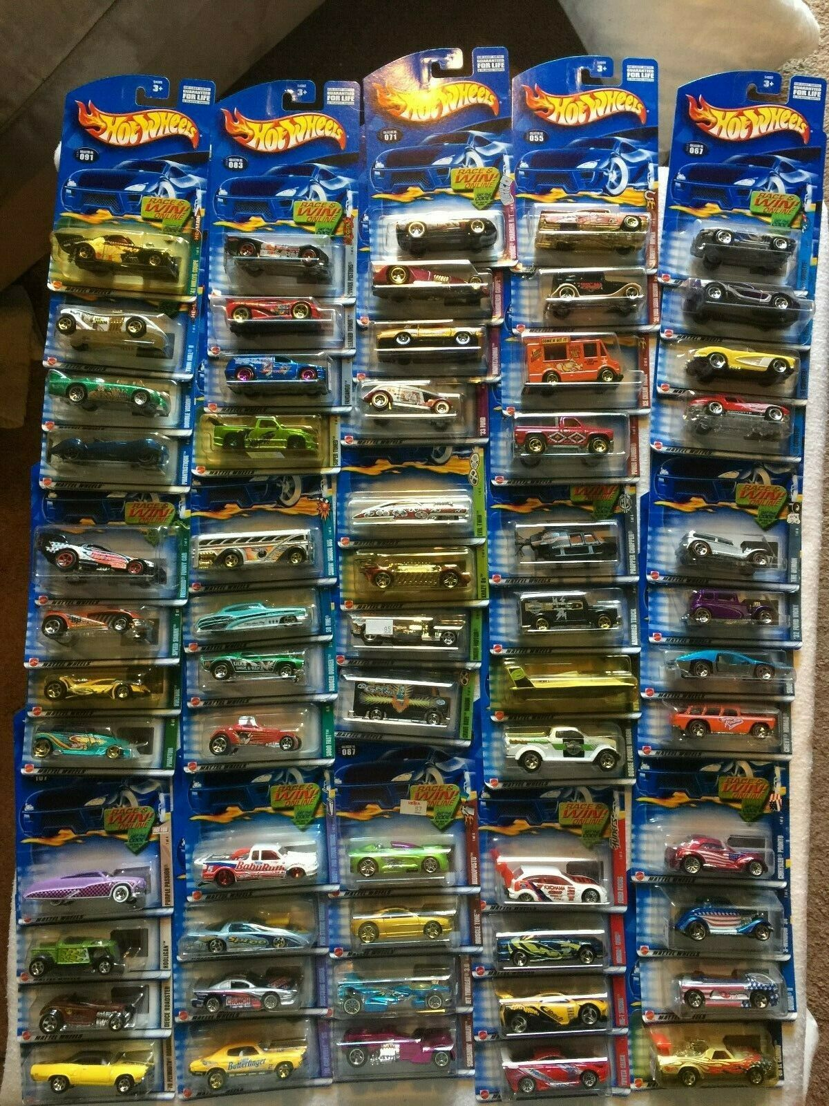 HOT WHEELS  2002 COMPLETE COMPLETE SET OF SERIES CARSc