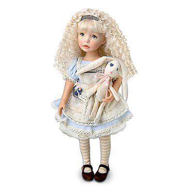 "Dianna Effner ""Alice"" The Alice In Wonderland-Inspired Child Doll by Ashton"