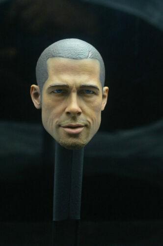 1//6 Scale Fight Club Brad Pitt Head Sculpt Taylor Head Fit 12/'/' Male Figure