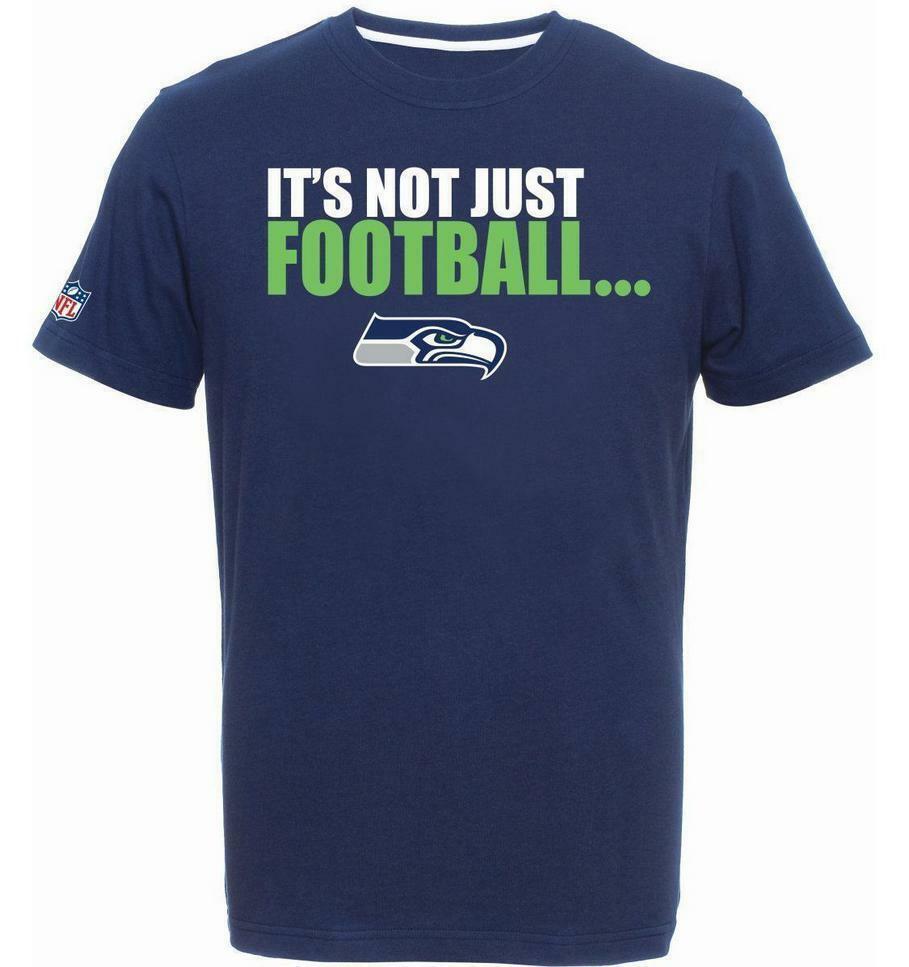Seattle Seahawks T-Shirt Tee,NFL Football,Majestic,it´s not just ..   | Exquisite (mittlere) Verarbeitung  | Düsseldorf Online Shop