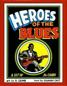 R-CRUMB-HEROES-OF-THE-BLUES-TRADING-CARDS-BOXED-SET-LATEST-EDITION