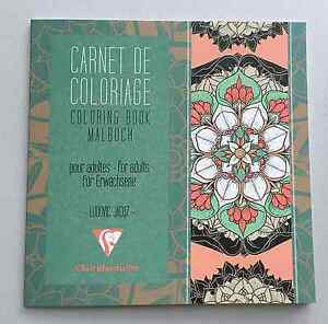Image Is Loading Mandala Coloring Book Clairefontaine Malbuch For Adult Art